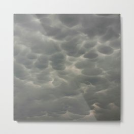 Outrageous Storm Clouds Metal Print