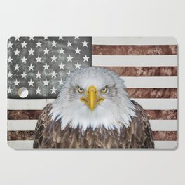 American Bald Eagle Patriot Cutting Board
