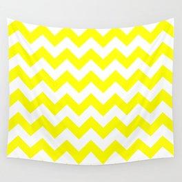 Chevron (Yellow/White) Wall Tapestry