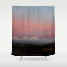 The wiew Shower Curtain