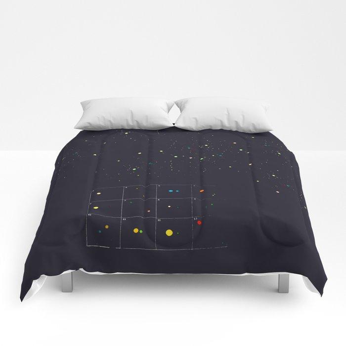 Seeking a new fiction Comforters