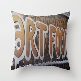 ART FOOLS Throw Pillow