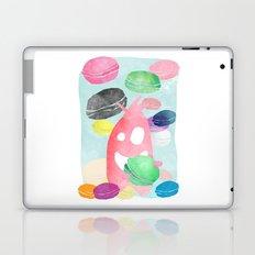 A wild creature in a macaron rain Laptop & iPad Skin