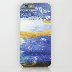 PAINTED WITH THE BLUES Slim Case iPhone 6s