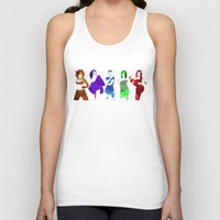 spice girls Tank Tops featuring The Spice Girls by Greg21