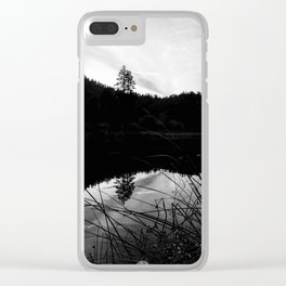 FROM THE SIDE Clear iPhone Case
