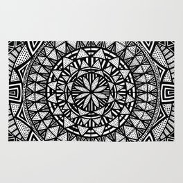 We were gifted with thought (or cursed) Rug