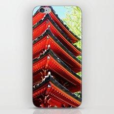 Red Pagoda iPhone & iPod Skin