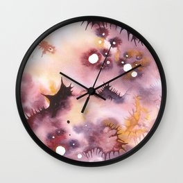 Tissue of the outer space 07 Wall Clock