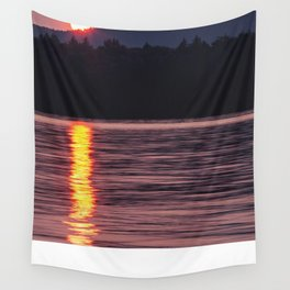 sun rolling down Wall Tapestry