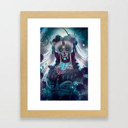 Sailor Muerte Framed Art Print