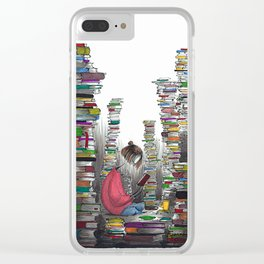 City of Books Clear iPhone Case