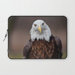 Bald Eagle Face Laptop Sleeve