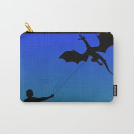 Magical Dragon Dragon (blue green) Carry-All Pouch