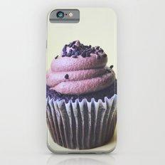 CHOCOLATE CUPCAKE PHOTOGRAPH iPhone 6s Slim Case