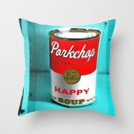 CONDENSED HAPPY Throw Pillow