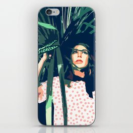 Tropical Travel #society6 #decor #buyart iPhone Skin