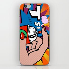 POP ART  iPhone Skin