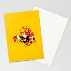 Flamenco Dancer Abstract Stationery Cards