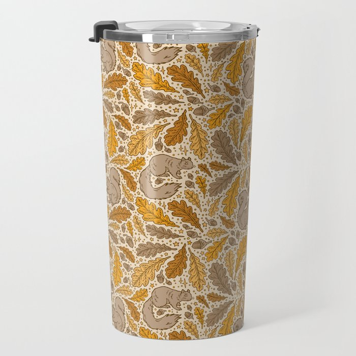 Oak & Squirrels | Autumn Yellows Palette Travel Mug