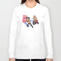 snk Long Sleeve T-shirts featuring Woo woo! by marisue