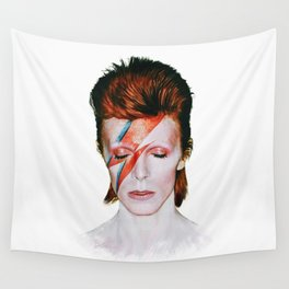 Bowie Tribute Wall Tapestry