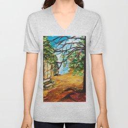 Woodland Beauty Unisex V-Neck