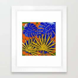 Rumble in the Jungle Framed Art Print