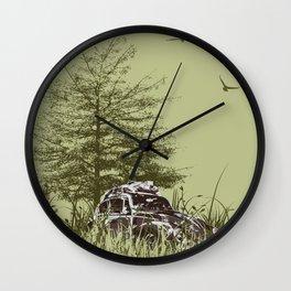 Loved Bug Wall Clock