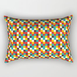 Pixel Tiles #2 Rectangular Pillow