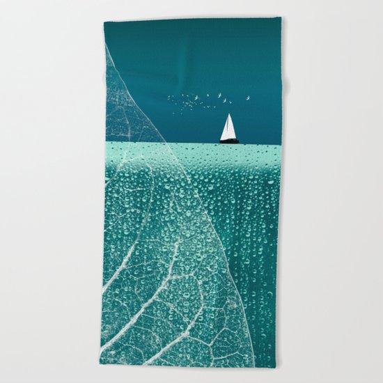 OCEAN WONDERLAND VIII Beach Towel