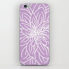 Abstract Flower Purple Lavender iPhone & iPod Skin