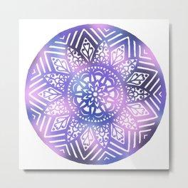 Dreamscape Mandala - LaurensColour Metal Print