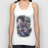 star lord Tank Tops featuring Star Lord - Galaxy Guardian by Nina Palumbo Illustration