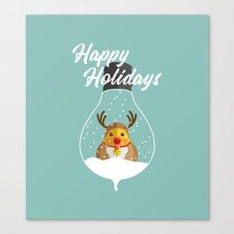 Merry Christmas Ducky Pt.2 Canvas Print