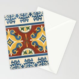 traditional Kazakh ornament Stationery Cards