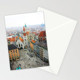 Munich Rooftops Stationery Cards