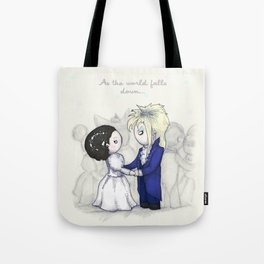 As The World Falls Down Plushie Tote Bag