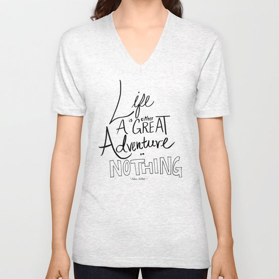 Great Adventure Unisex V-Neck