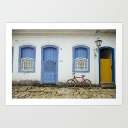 Old City Art Print
