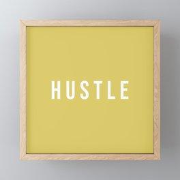 HUSTLE Framed Mini Art Print