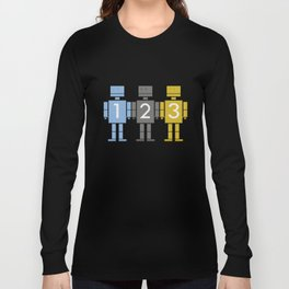 123 Robots Long Sleeve T-shirt