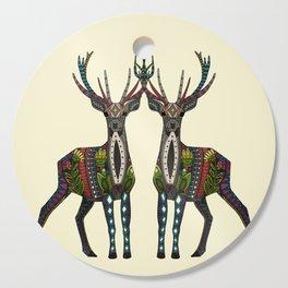 deer vanilla Cutting Board