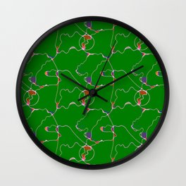Unblemished Introspection Wall Clock