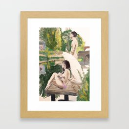 Delicate Privilege Framed Art Print