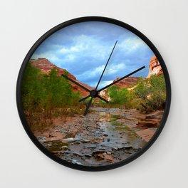 Canyon Country Wall Clock