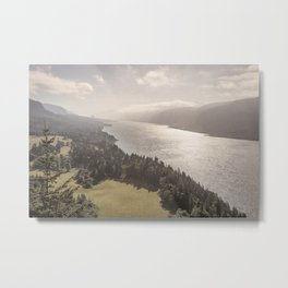 Cape Horn and Willamette Valley Metal Print