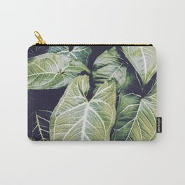 Jungle leaf - vintage Carry-All Pouch