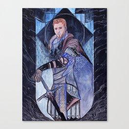 Grey Warden Alistair Canvas Print