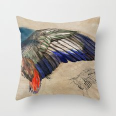 L'AILE DE DURER (DURER'S WING) Throw Pillow